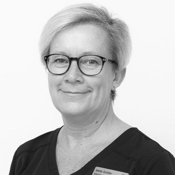 Klinikassistent Mette Schiller