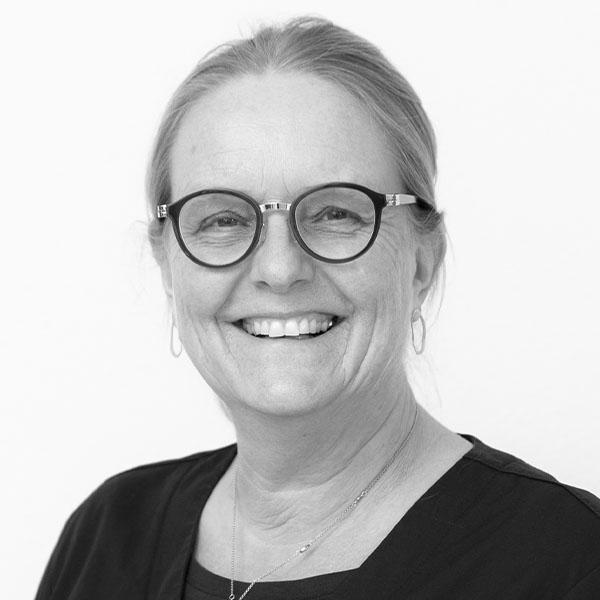 Receptionist Anette Tengberg