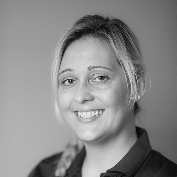 Receptionist Stina Esbensen